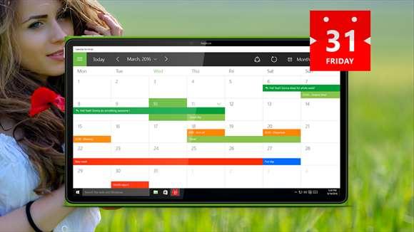Developer Submission: Make the most of every day with Calendar for Gmail! New improved version! 4