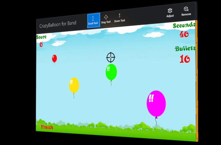 Developer Submission: Spring Sale!! CrazyBalloon UWP Game for Band and Hololens / AppuntiVeloci PRO / IlMioRicettario PRO start Spring party! 13