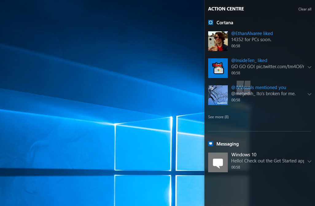 Windows 10's Notification Syncing now available for Windows