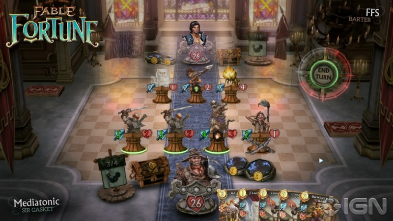 A screenshot of Fable Fortune gameplay