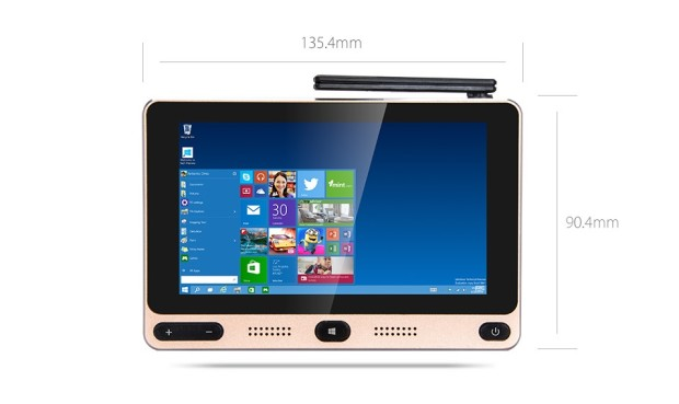 $99 GOLE1 mini-Windows 10 PC has a 5 inch touch screen and 2 hour battery life 1