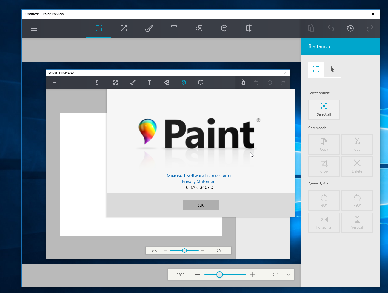 Windows 10's upcoming Paint app leaks online - MSPoweruser
