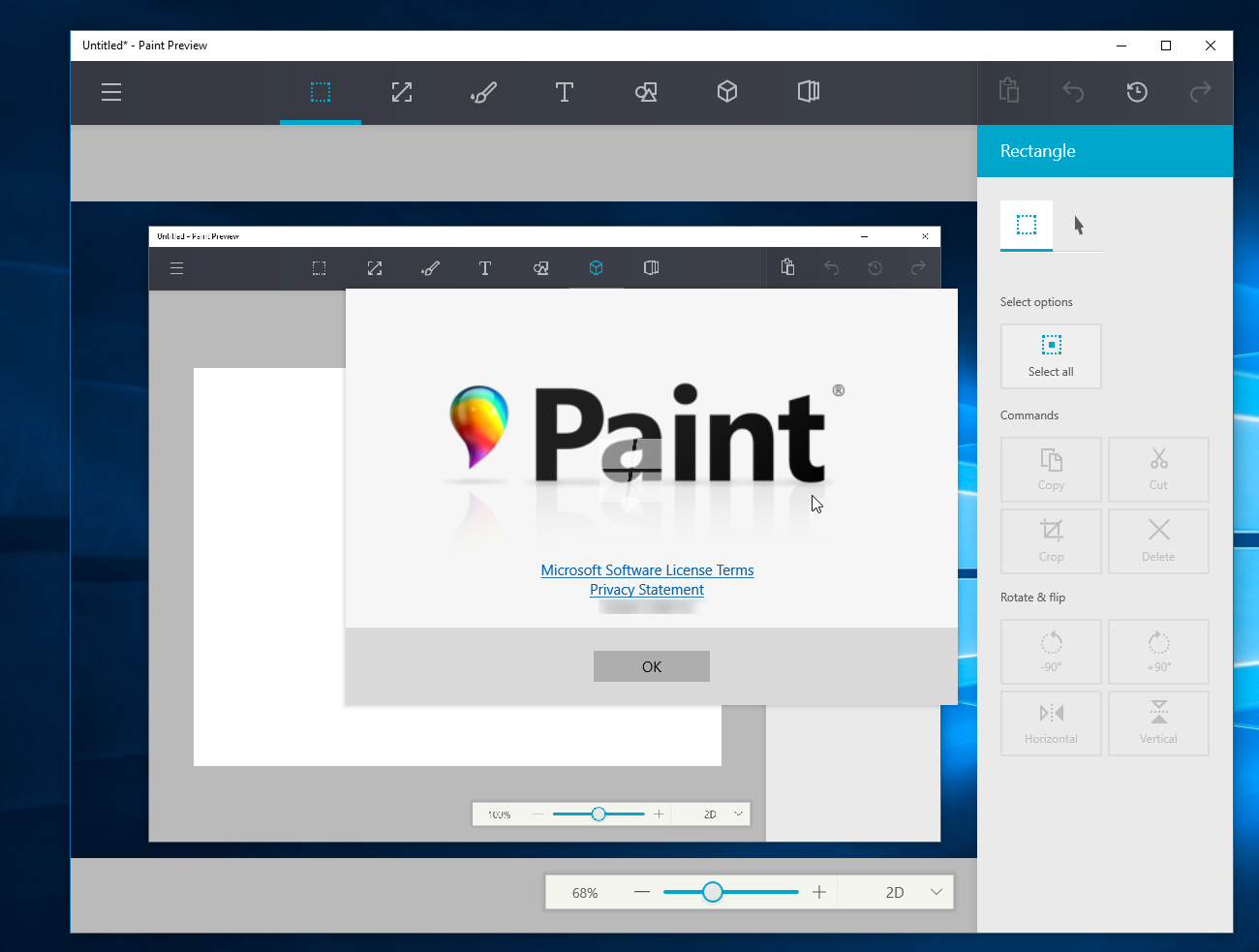 Watch Microsoft's upcoming redesigned Paint app for Windows 10 in action 8