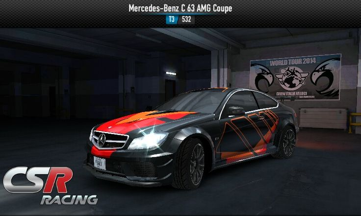 Zynga's CSR Racing updated with new cars, including the Mercedes-AMG C 63 Racing Coupé 4