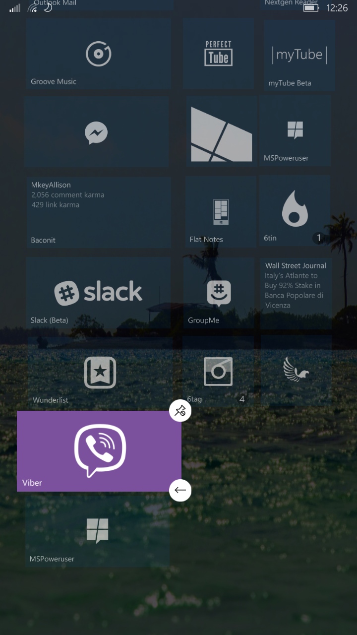 First look at Viber 6.0 for Windows 10 Mobile 8