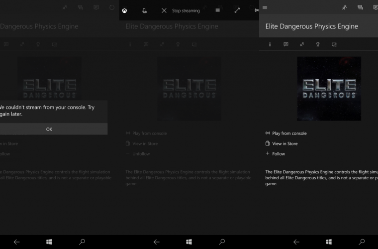 First look: Xbox streaming on Windows 10 Mobile 5