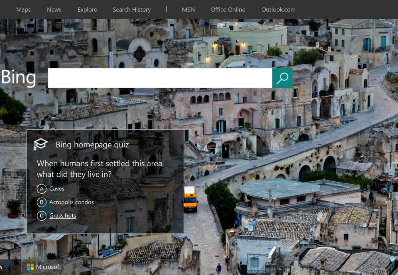 How To Use Bing Homepage Daily Quiz