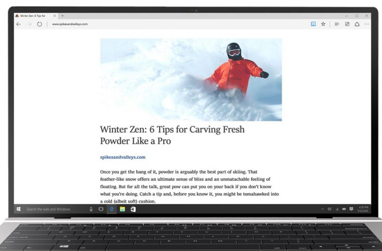 New web platform features included in Windows 10 Build 15007 7