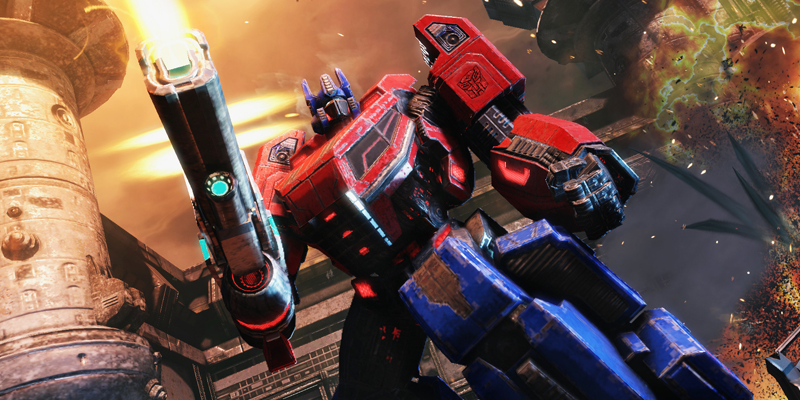 Fall of Cybertron screenshot