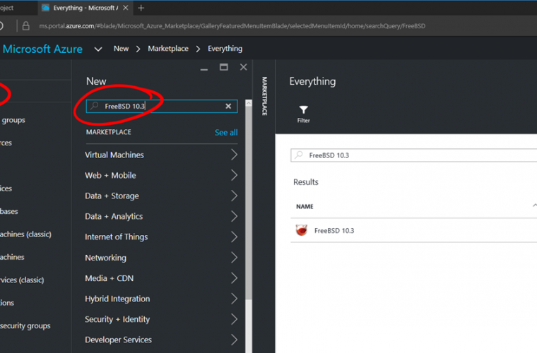 FreeBSD VM image now available in Azure Marketplace 11