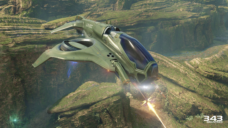 The wasp in Halo 5: Guardians.