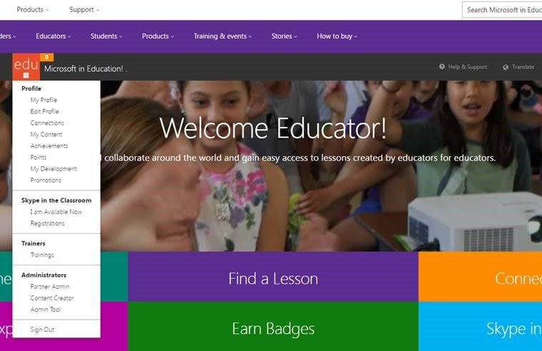 Microsoft announces new features for Educator Community 9