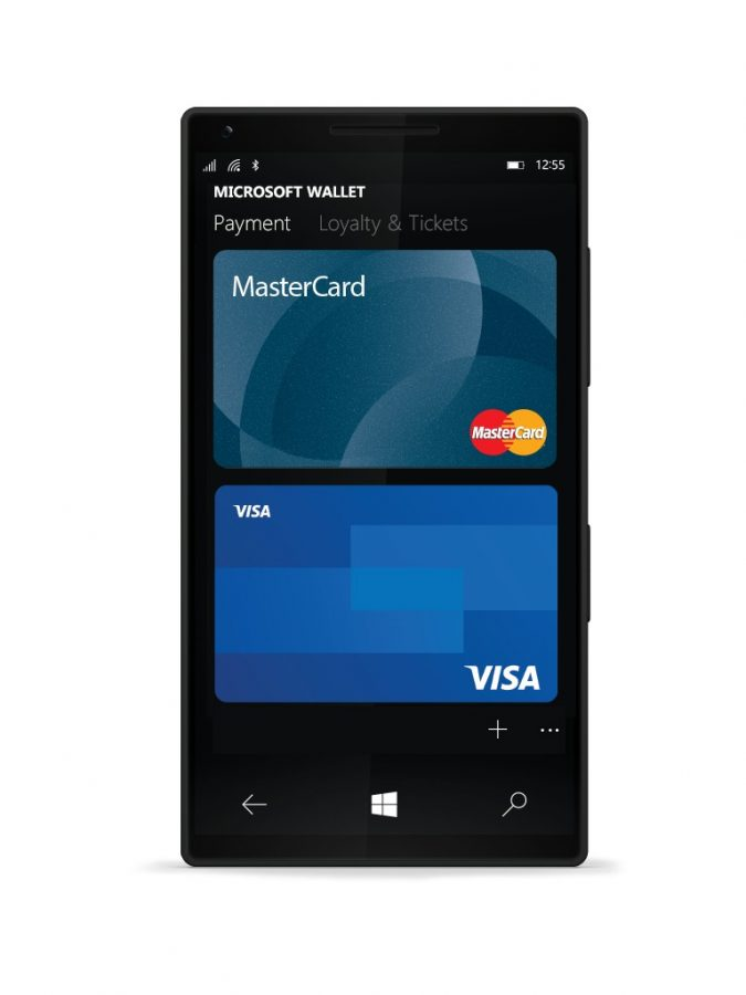 Microsoft Wallet app