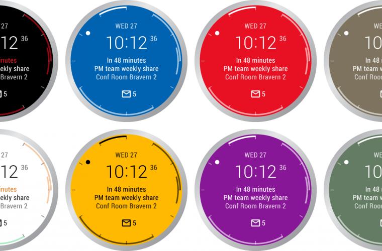 Microsoft releases Outlook watch face for Android Wear 5
