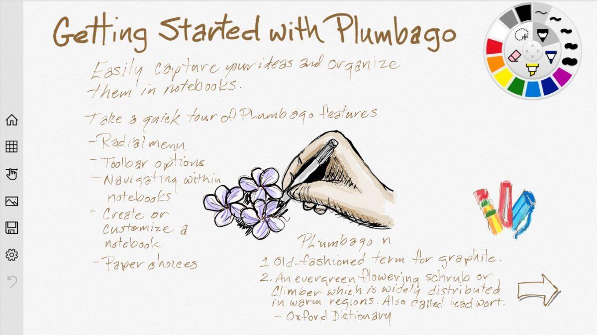Plumbago Microsoft app