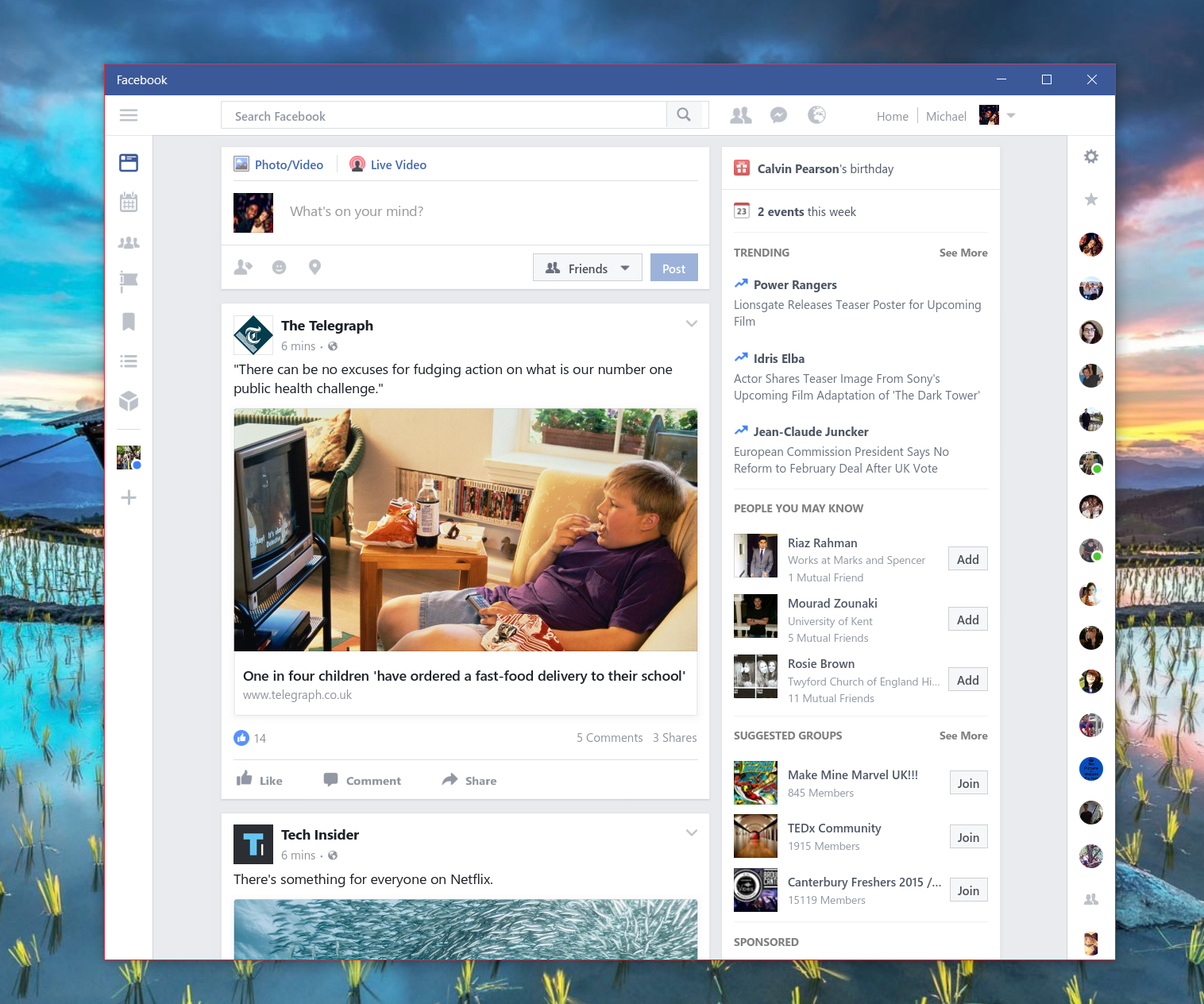Facebook Beta for Windows 10 gets a new update - MSPoweruser