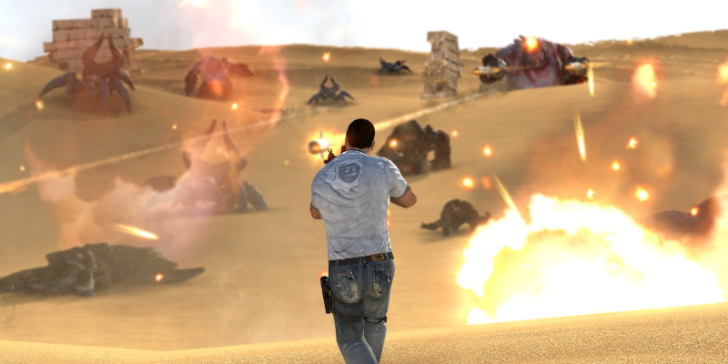 Serious Sam 3 screenshot