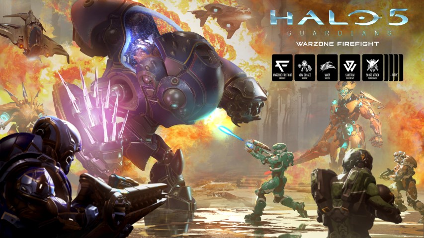 Warzon Fight Halo 5 (Small)