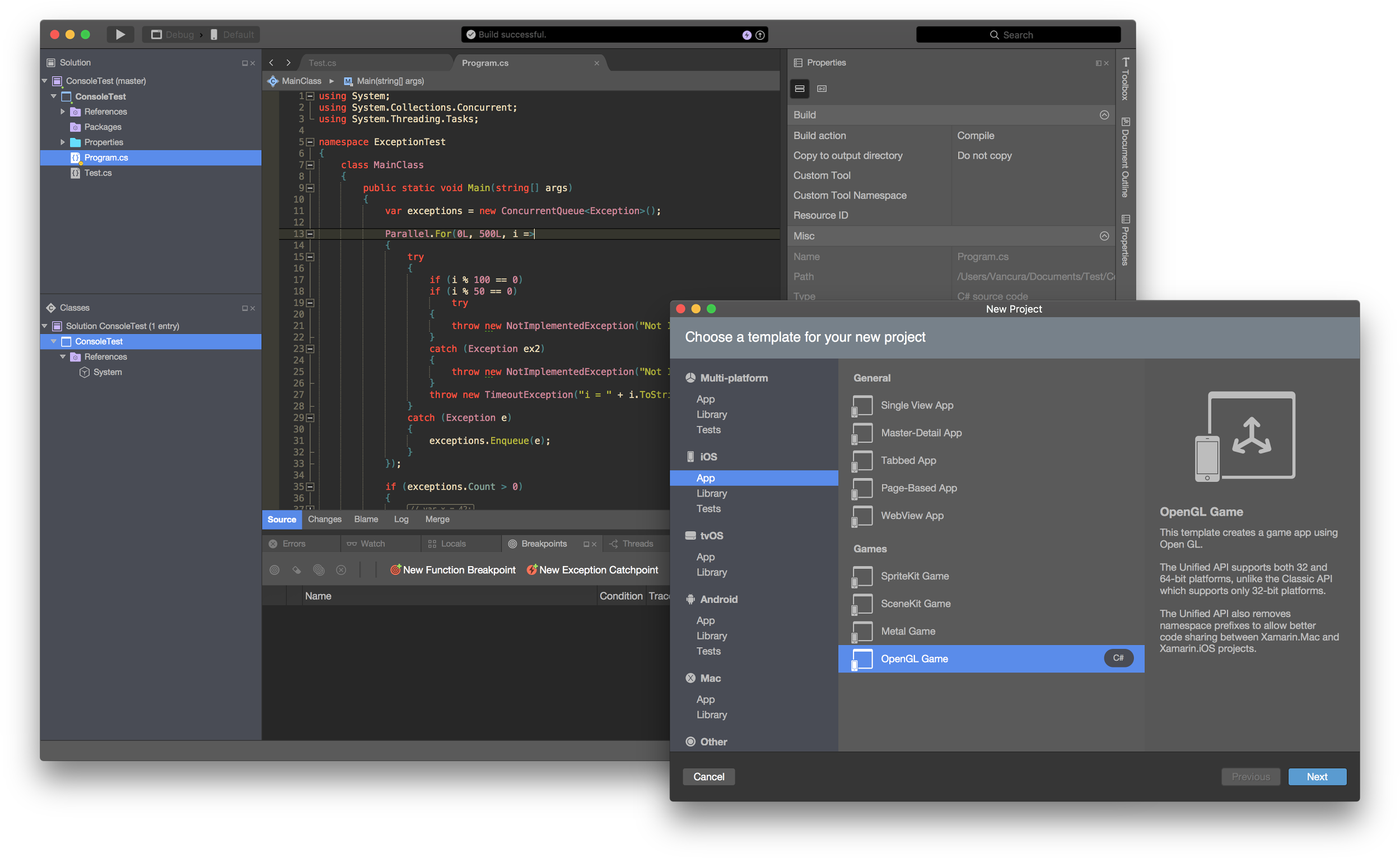 Xamarin Studio 60 Now Available For Download With Dark Theme