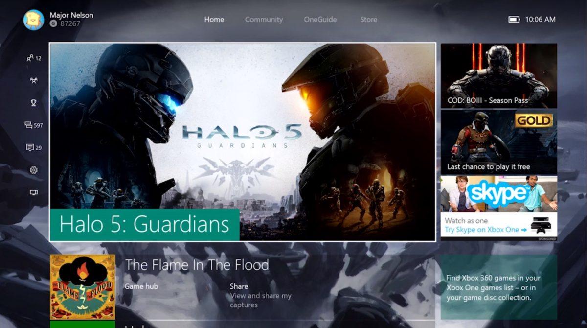 Xbox One Windows 10 Update