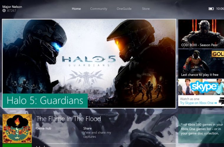 Microsoft releases new Xbox One Preview update 6