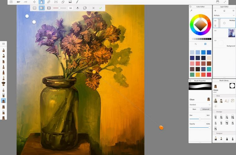 Autodesk sees massive success with UWP SketchBook app, commits to the platform with Stingray support 27