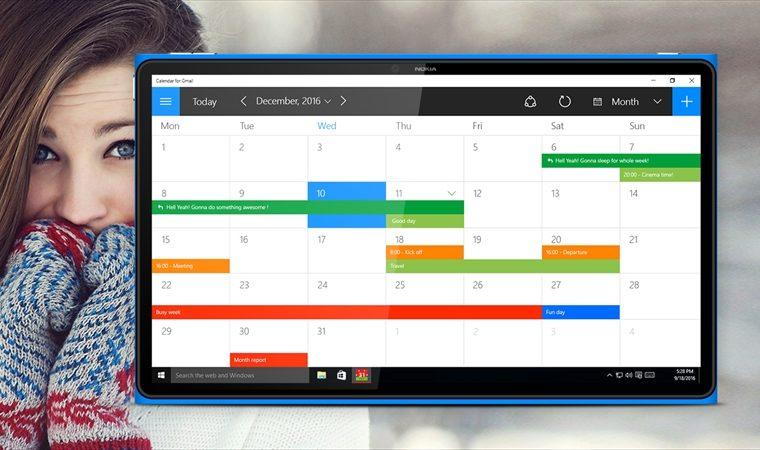 Developer Submission: Calendar for Gmail – Plan your days, months and even years properly! Free version! 3