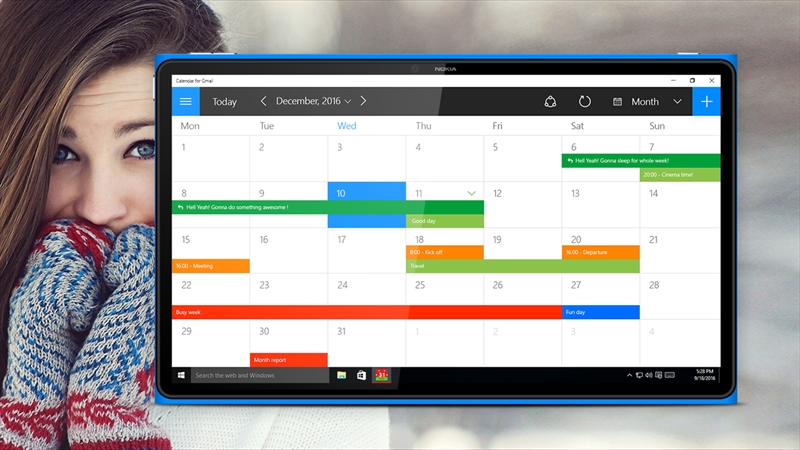 calendar for gmail