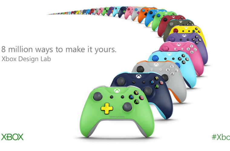 You can now design your own Xbox One controller 11