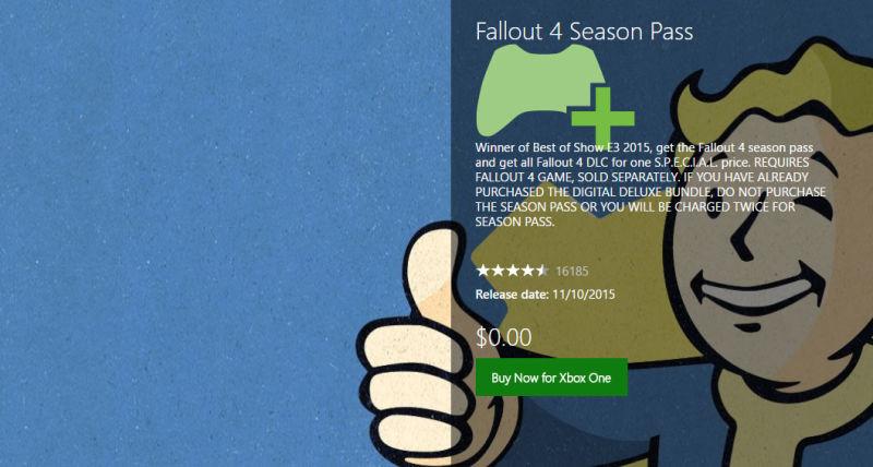 fallout 4 pricing error