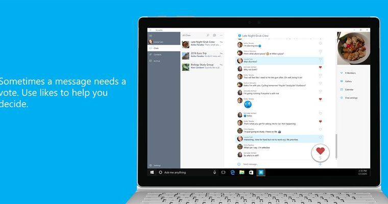 MSN Weather and GroupMe for Windows 10 snag minor updates 8