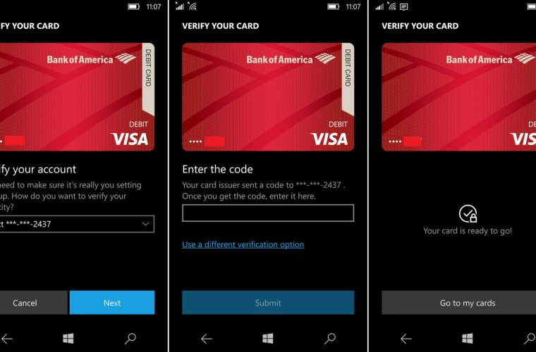 Microsoft's Wallet 2.0 app now rolling out to Windows 10 Mobile devices in Fast Ring 6
