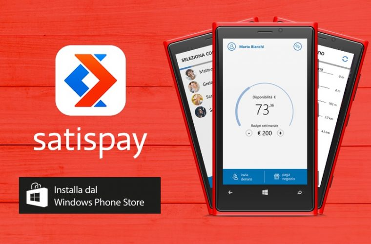 Satispay mobile payments for Windows Phone to spread to 1.7 million terminals 15
