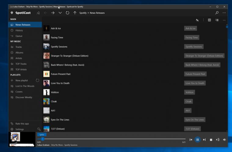 Spoticast for Windows 10 gets offline support, Chromecast Audio, and more 23