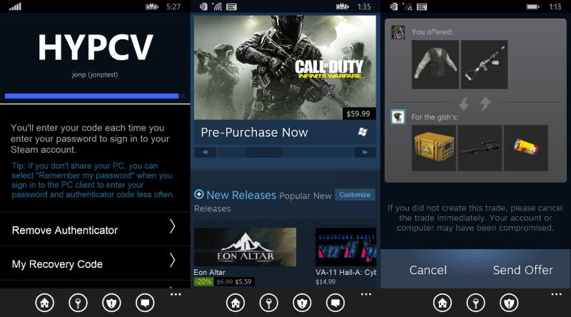 Steam's Windows Phone app shows up in the Store - MSPoweruser