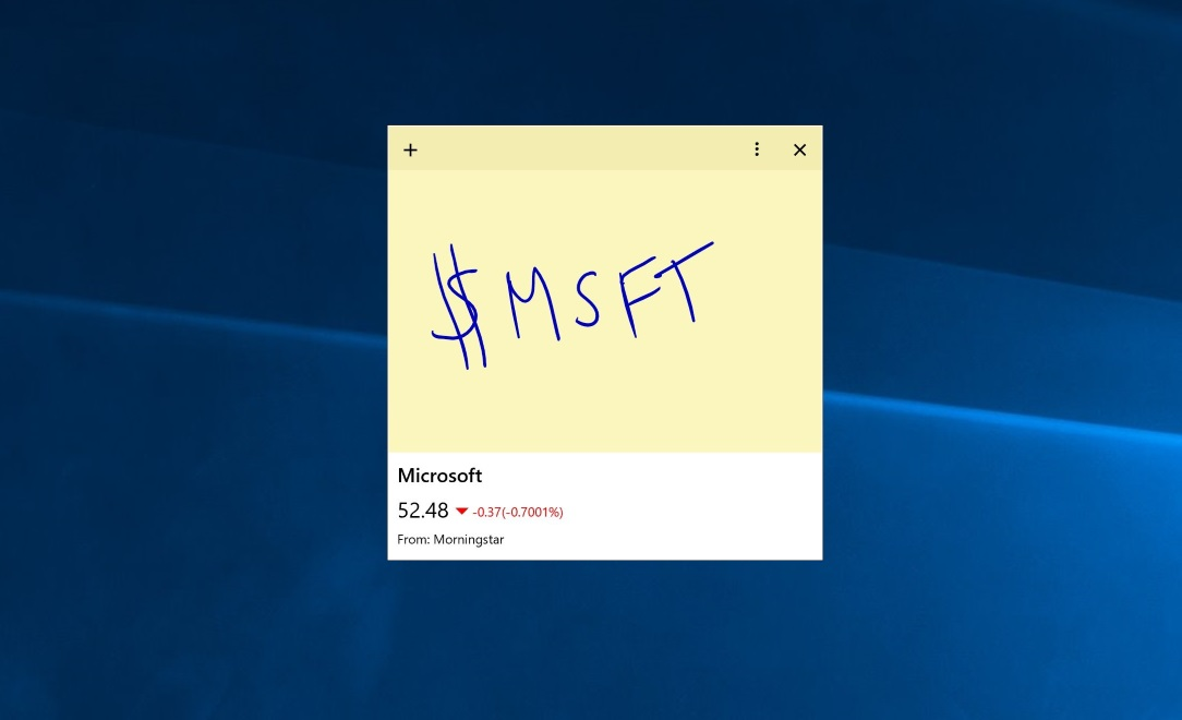 download microsoft sticky notes windows 10