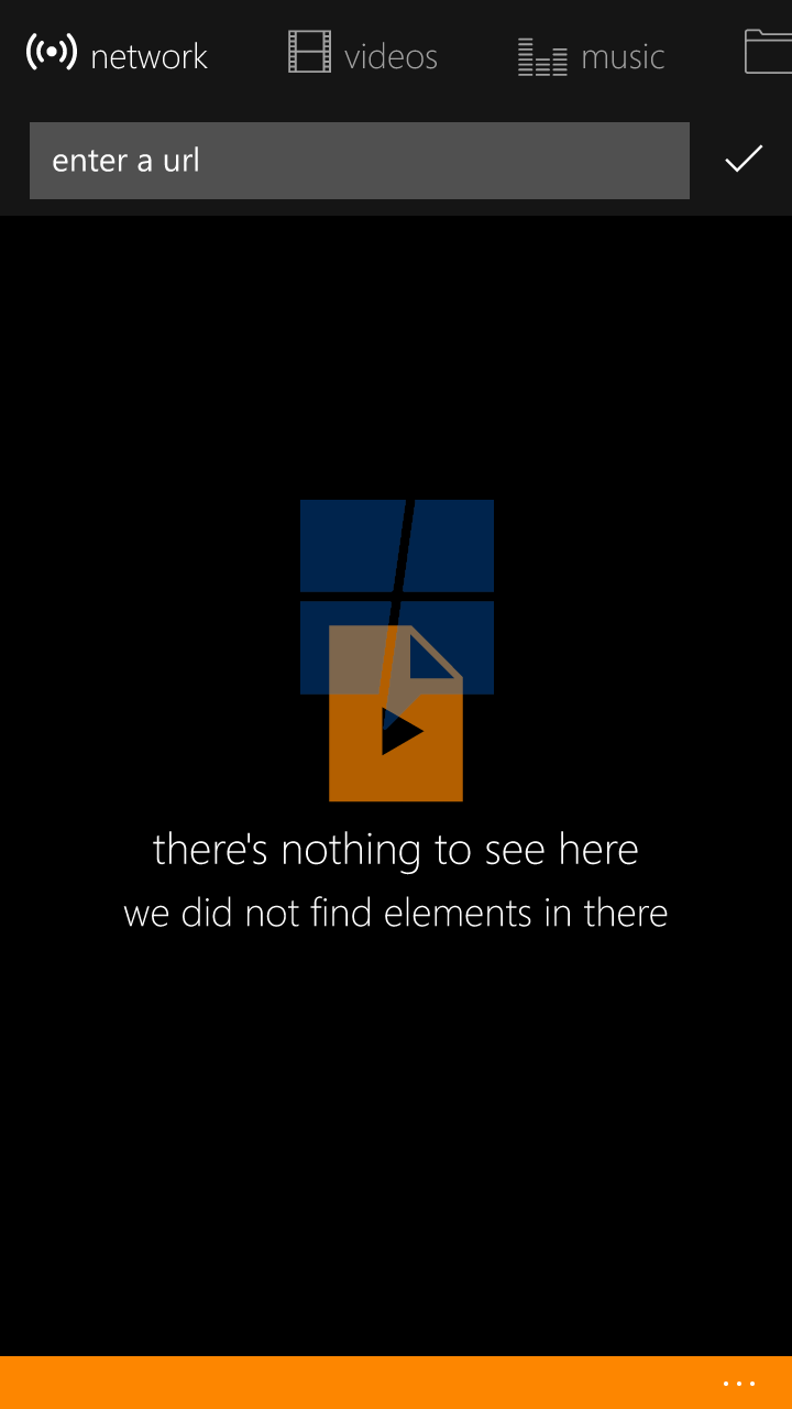First look at VLC UWP app for Windows 10 Mobile 5
