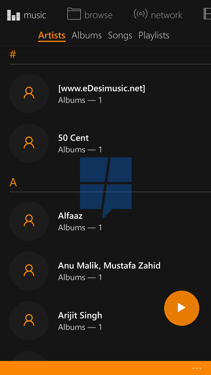 First look at VLC UWP app for Windows 10 Mobile 8