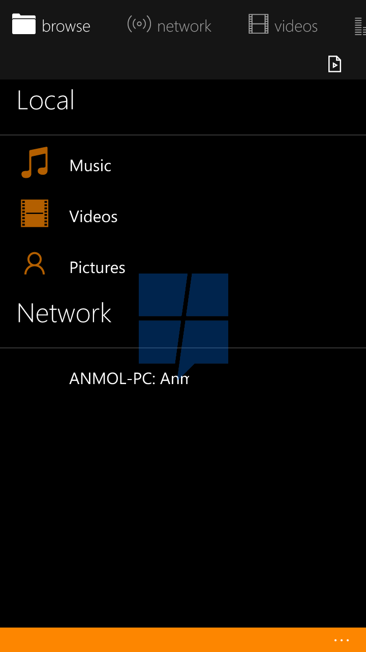 First look at VLC UWP app for Windows 10 Mobile 11
