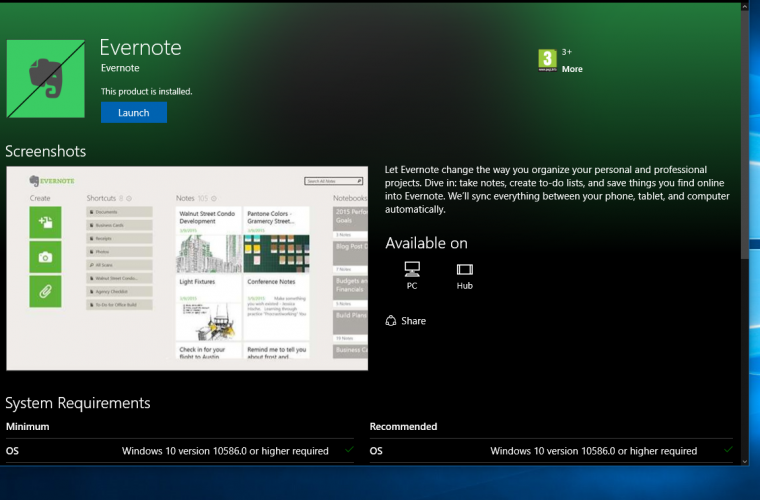 Evernote's Windows Phone app will leave the store this week 5