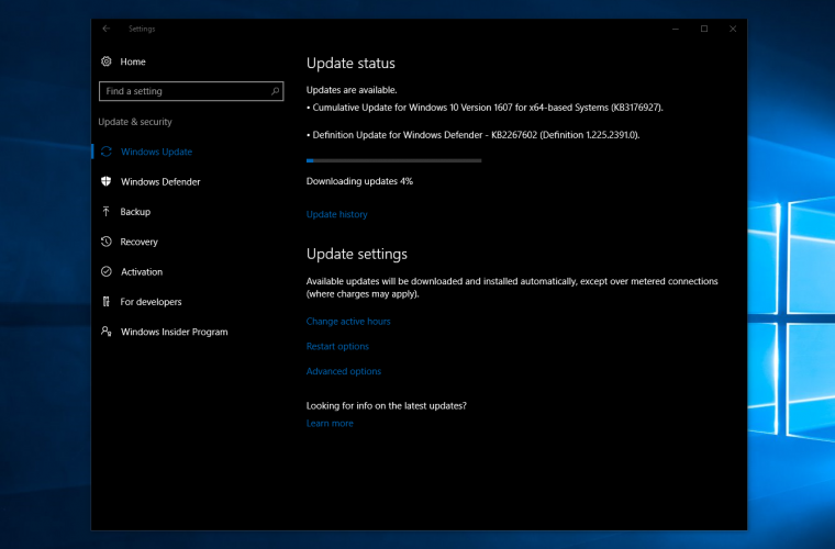 Windows 10 Build 14393.5 now available for Release Preview and Slow Rings 17