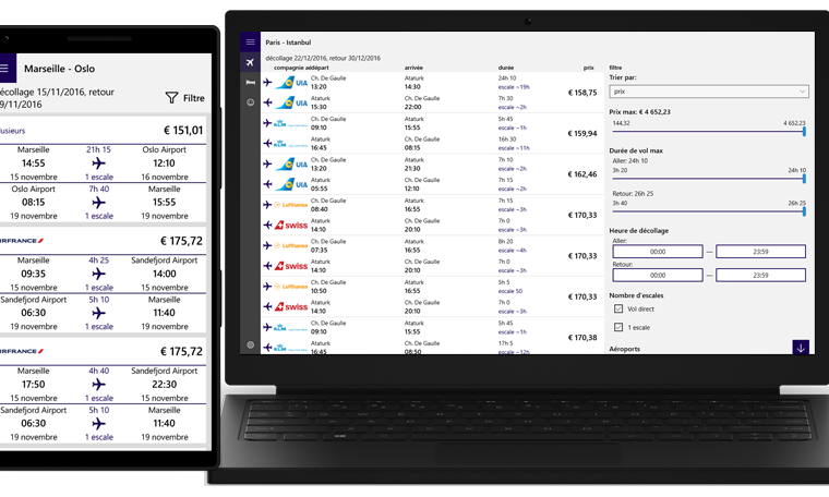 Developer Submission : airtravel - Flights & Hotels updated with French localisation. 16