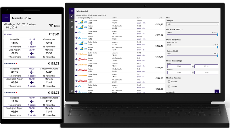 Developer Submission : airtravel - Flights & Hotels updated with French localisation. - MSPoweruser
