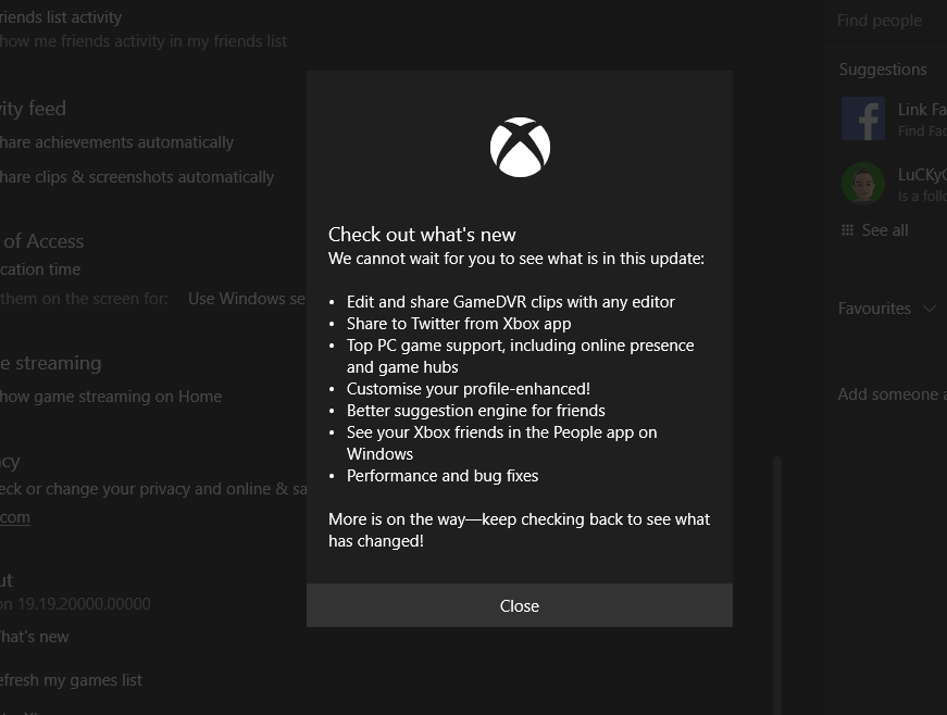 Why is my xbox app not working pc | Hands  2019-02-11