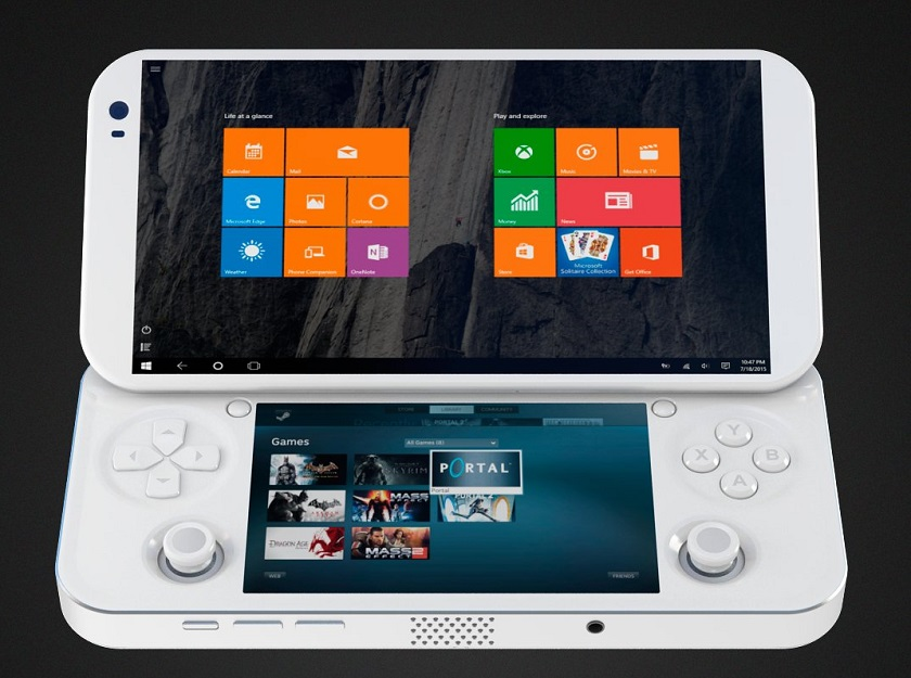 pgs lab 39 s portable console promises to put pc gaming in. Black Bedroom Furniture Sets. Home Design Ideas