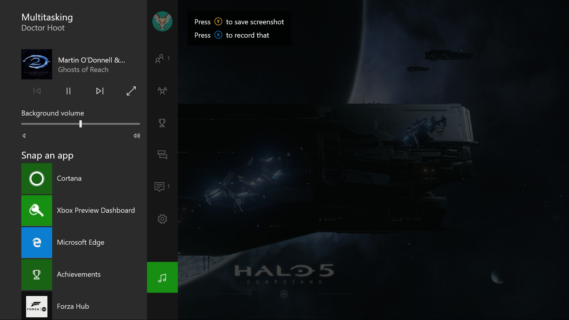 Cortana Background Music Xbox One