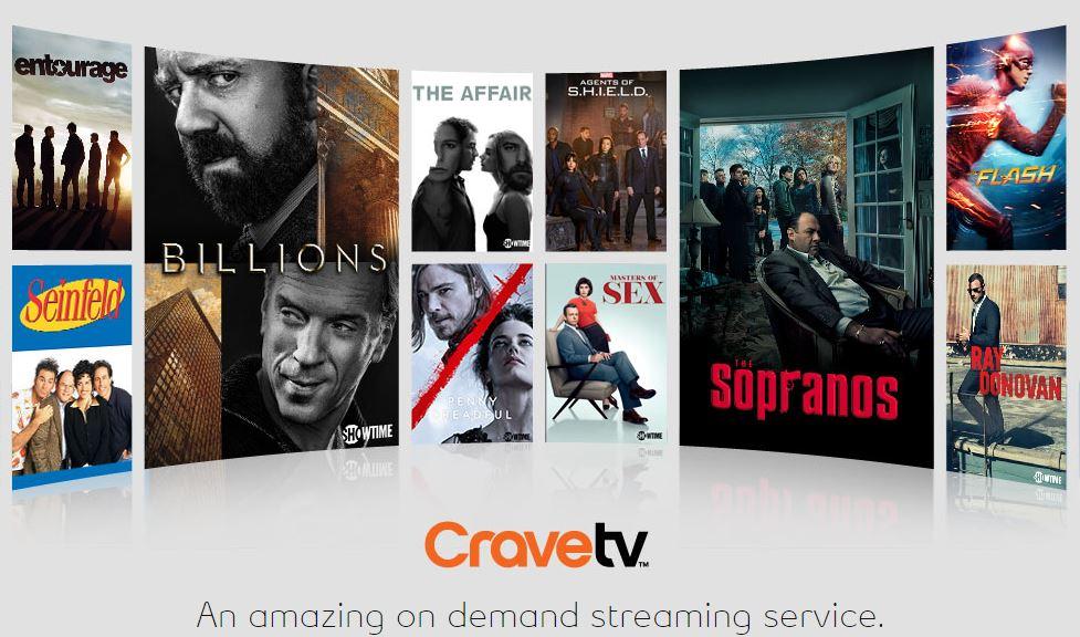 CraveTV Xbox One