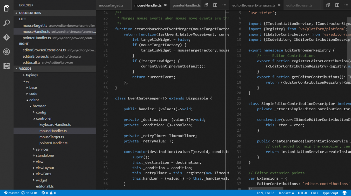 Visual Studio Code can now indent your code automagically