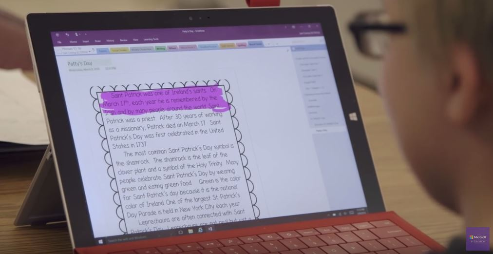 Learning Tools OneNote