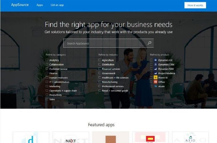 Microsoft officially announces Microsoft AppSource 3